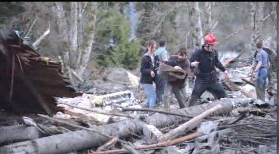 "Just after a March 2014 mudslide, which claimed the lives of more than 20 people in Oso, Washington, some drivers who had pulled over to the side of the road <a href=""http://www.huffingtonpost.com/2014/03/31/baby-rescued-in-seattle-m_n_5063285.html"" target=""_blank"">heard a baby crying</a>. Ignoring warnings from officials, the bystanders entered the wreckage and rescued a 6-month-old baby. <a href=""http://www.huffingtonpost.com/2014/03/31/baby-rescued-in-seattle-m_n_5063285.html"" target=""_blank"">Read the whole story here</a>."