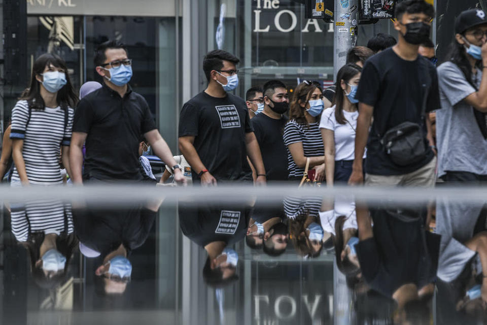 A total of 612 people were arrested for breaking various Covid-19 regulations, and not wearing face masks remains the top offence eight months after it was imposed. — Picture by Hari Anggara