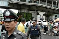 Thai police say they know who was behind bombings