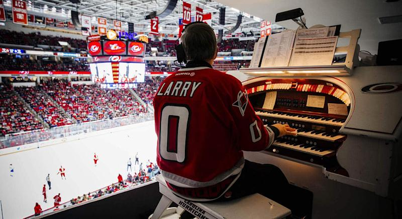 The organ that has entertained Carolina Hurricanes fans since 1997 could be yours. (Getty)