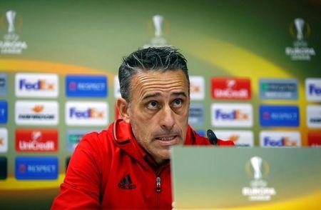 Football Soccer - Olympiacos news conference - Astana v Olympiacos - UEFA Europa League Group Stage - Group B