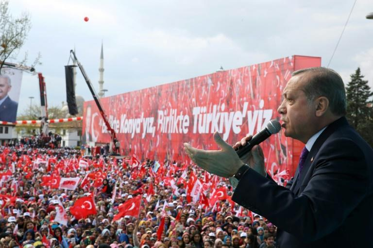 Turkish President Recep Tayyip Erdogan and his successors will gain new powers if voters back a 'Yes' in Sunday's referendum