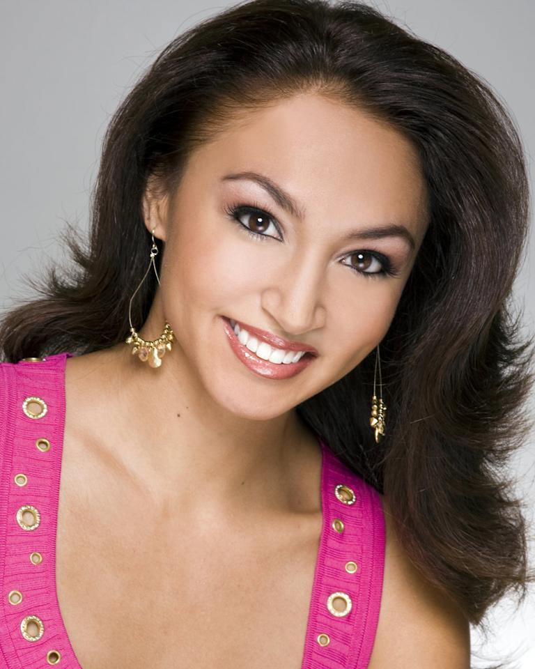 "Miss Hawaii, Nicole Fox, is a contestant in the <a href=""/miss-america-countdown-to-the-crown/show/44013"">Miss America 2009 Pageant</a>."
