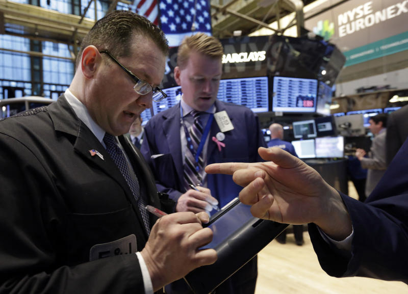 Stocks open lower on Wall Street; Hess advances