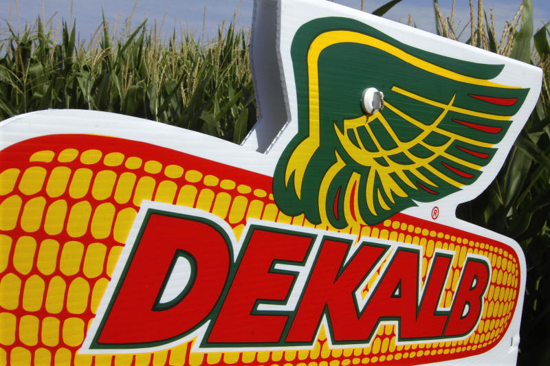 Monsanto 4th-qtr loss widens as seed sales decline