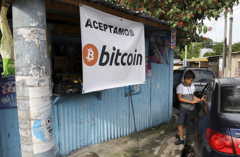 Starting 7 September, all businesses in El Salvador must accept payments in Bitcoin, except those lacking the technology to do so. Photo: AP