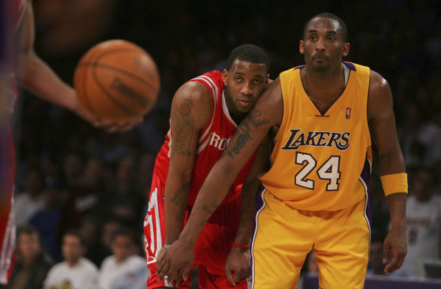 Tracy McGrady said that a young Kobe Bryant told him he wanted to be immortalized during their early days in the NBA. (Lisa Blumenfeld/Getty Images)