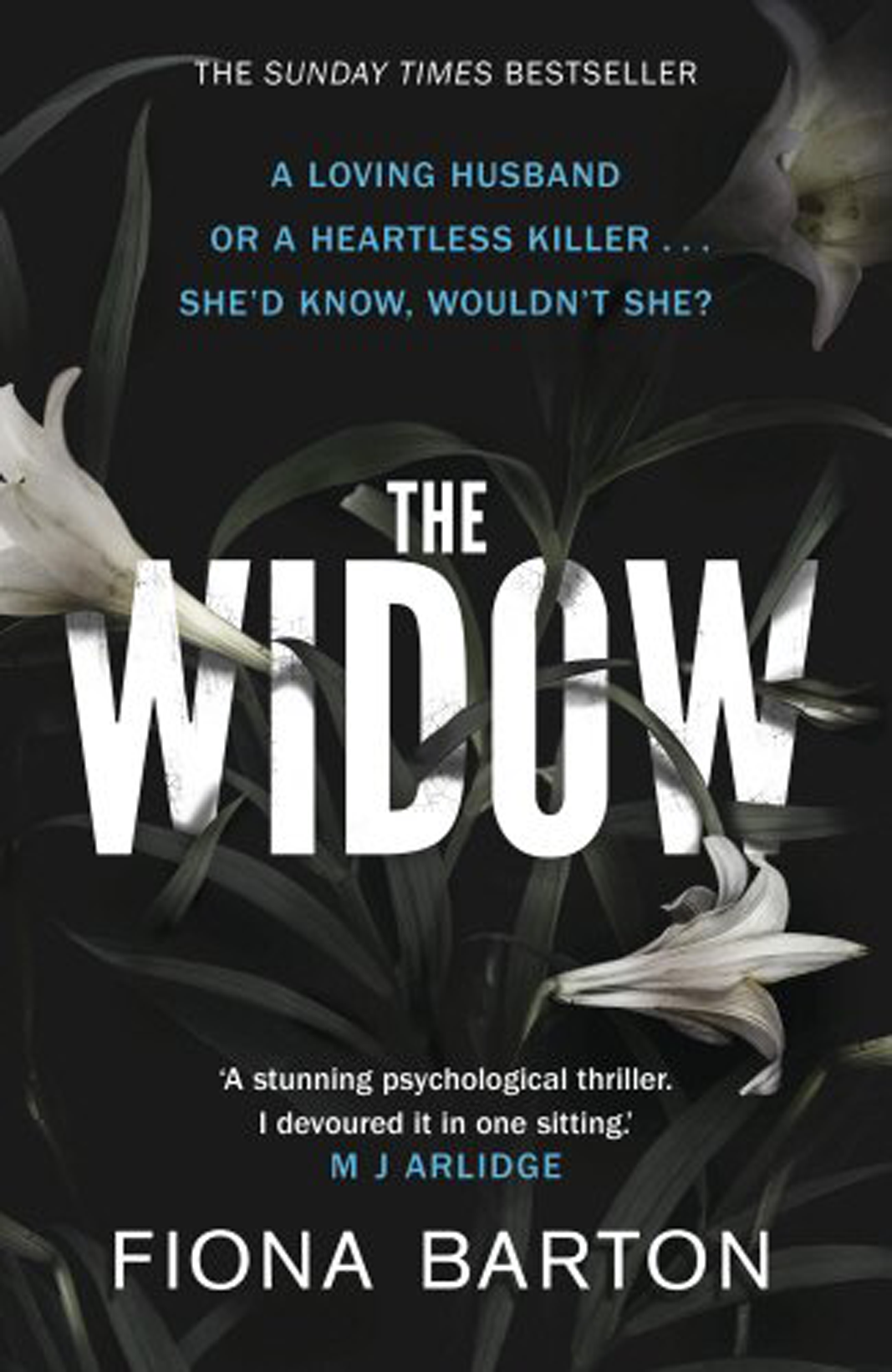 """<p><em><strong>The Widow</strong></em></p> <p>By Fiona Barton</p> <p>This is the story we don't often hear. What's it like being married to the man on all the front pages, accused of unimaginable evil? Jean Taylor's life and relationship were great until her husband became that """"monster"""". But now he's dead and she's alone for the first time, free to tell her story in her own way.</p> <p><em>The Widow</em> is the fastest-selling debut hardback novel since <em>The Girl on the Train</em> and has already been optioned for TV. </p>"""