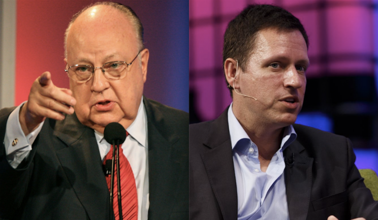 From Roger Ailes to Peter Thiel