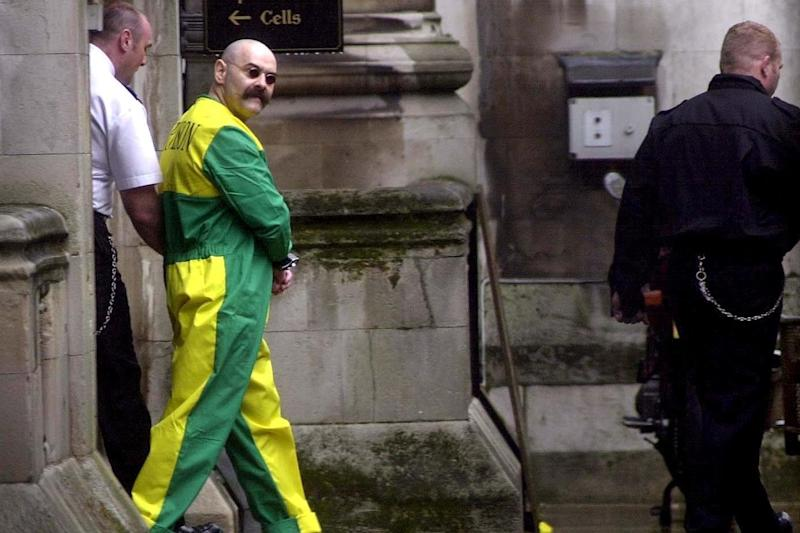 In court: Charles Bronson (pictured here in 2001): NICK RAZZELL/REX/Shutterstock