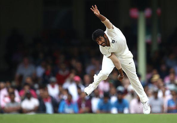 Jasprit Bumrah bowled spectacularly on India's tour of Australia in 2018/19