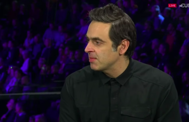 Ronnie O'Sullivan withrew from the Masters in December for personal reasons