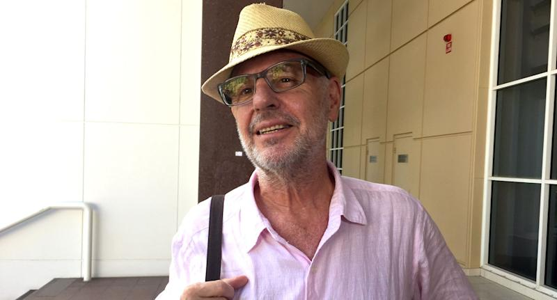 Photo of Philip Nitschke who says police were raiding the elderly and seizing euthanasia drugs.