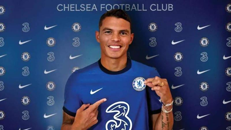 Chelsea sign Thiago Silva on initial one-year deal