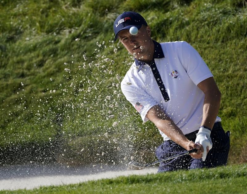 Peter Uihlein leads in Las Vegas; Jordan Spieth 2 shots back