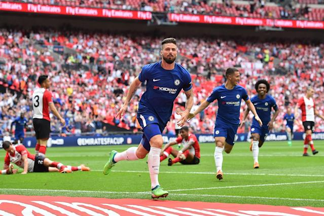 Chelsea 2 Southampton 0: Olivier Giroud's jinking stunner seals FA Cup Final spot