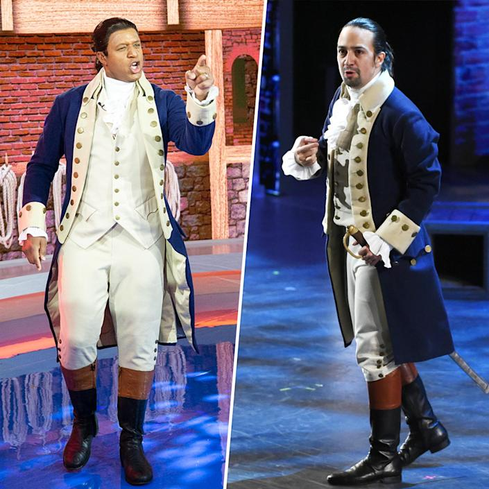 TODAY Show Halloween 2020: Craig Melvin as Alexander Hamilton from Broadway's