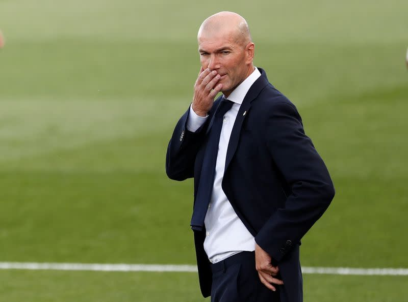 Zidane annoyed by talk of referees favouring Madrid