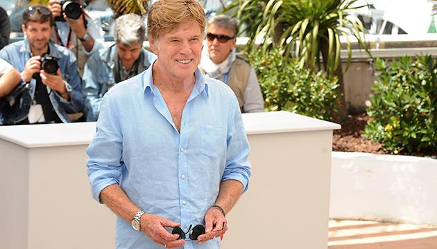 Robert Redford at the Cannes Film Festival on Wednesday