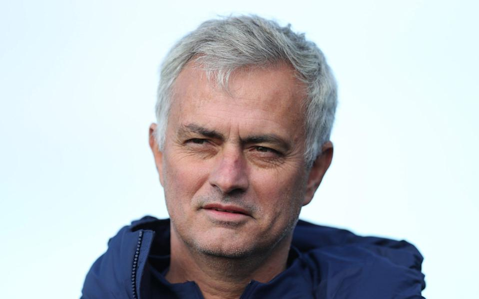 Jose Mourinho, Head Coach of Tottenham Hotspur during the Tottenham Hotspur training session at Tottenham Hotspur Training Centre on October 15, 2020 in Enfield, England - Tottenham Hotspur FC