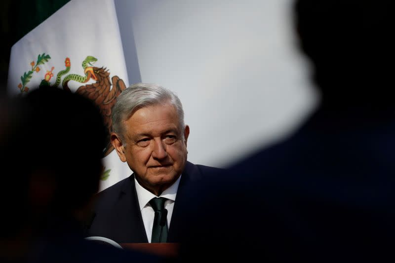 Mexico's president nods to environment but favors state energy firms