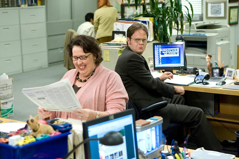 """With his big glasses, mustard shirts and love of beets, Rainn Wilson was unforgettable as Dwight Schrute on """"The Office."""""""
