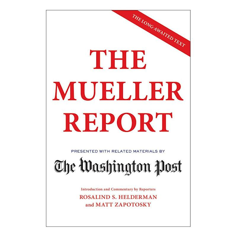 """The Mueller Report"" TKTK. (Photo: Amazon)"