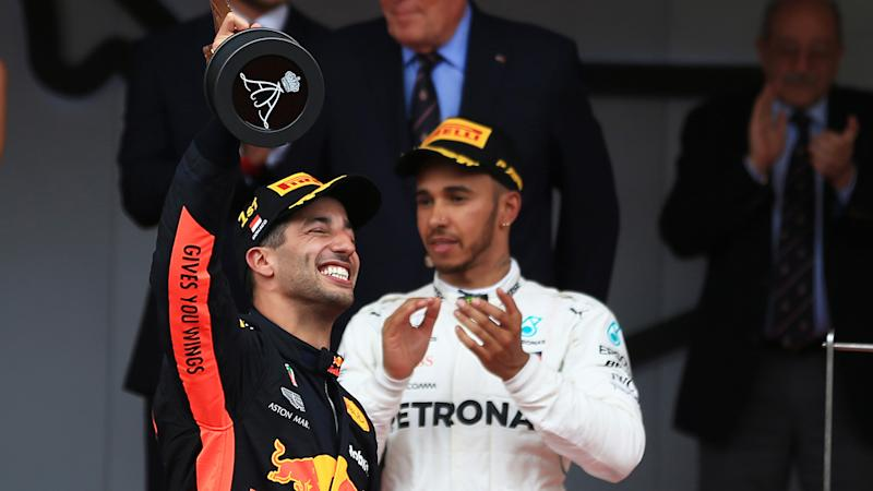 Daniel Ricciardo grabs pole in F1 Monaco qualifying