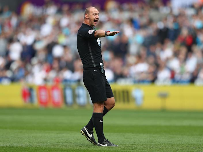 Bobby Madley was considered one of the Premier League's leading referees: Getty