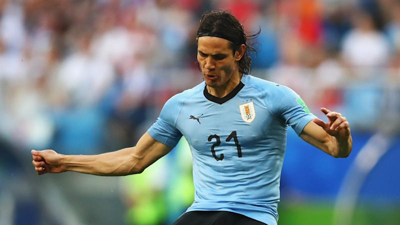 Image result for Cavani's brace sends Ronaldo, Portugal out of World Cup