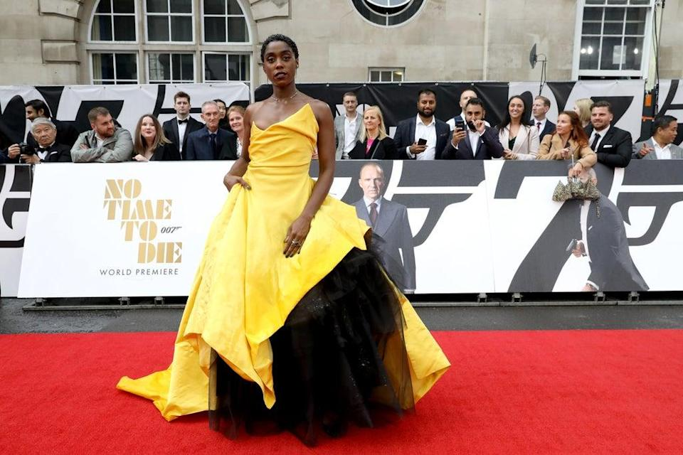Lashana Lynch (Tristan Fewings/Getty Images for EON Productions, Metro-Goldwyn-Mayer Studios, and Universal Pictures)