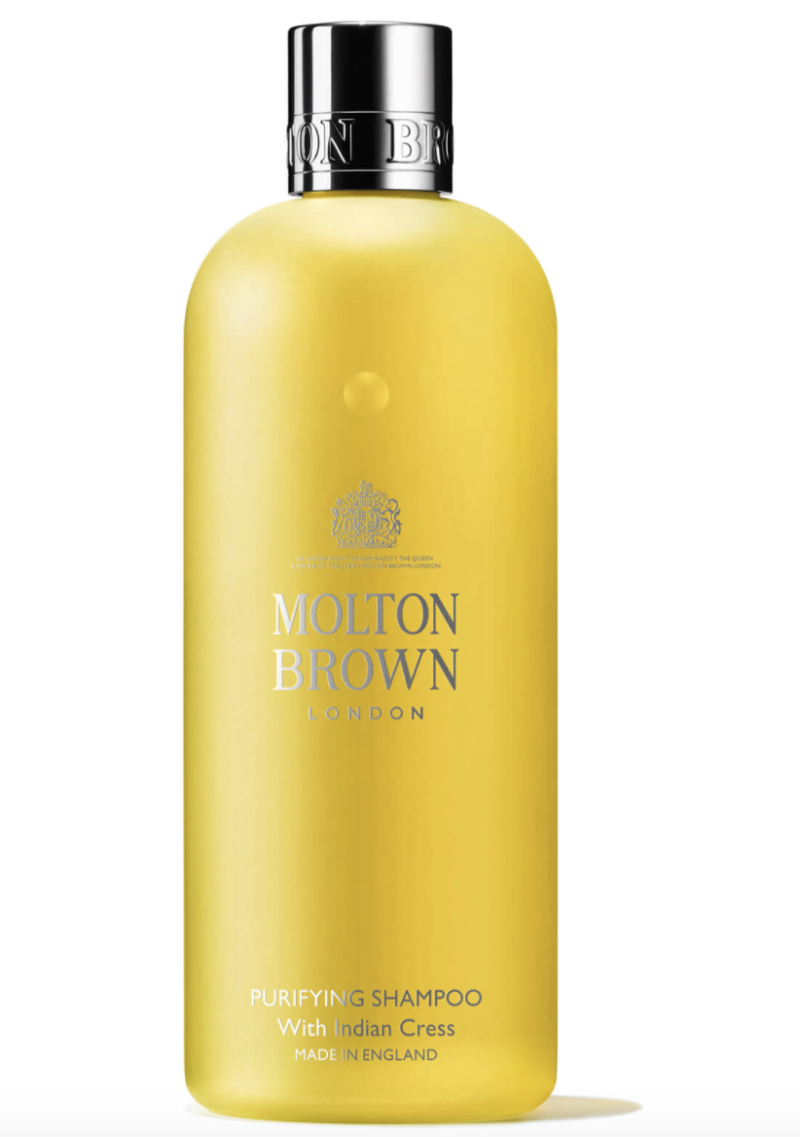 Molton Brown purifying shampoo with Indian cress, S$31.50. PHOTO: Lookfantastic