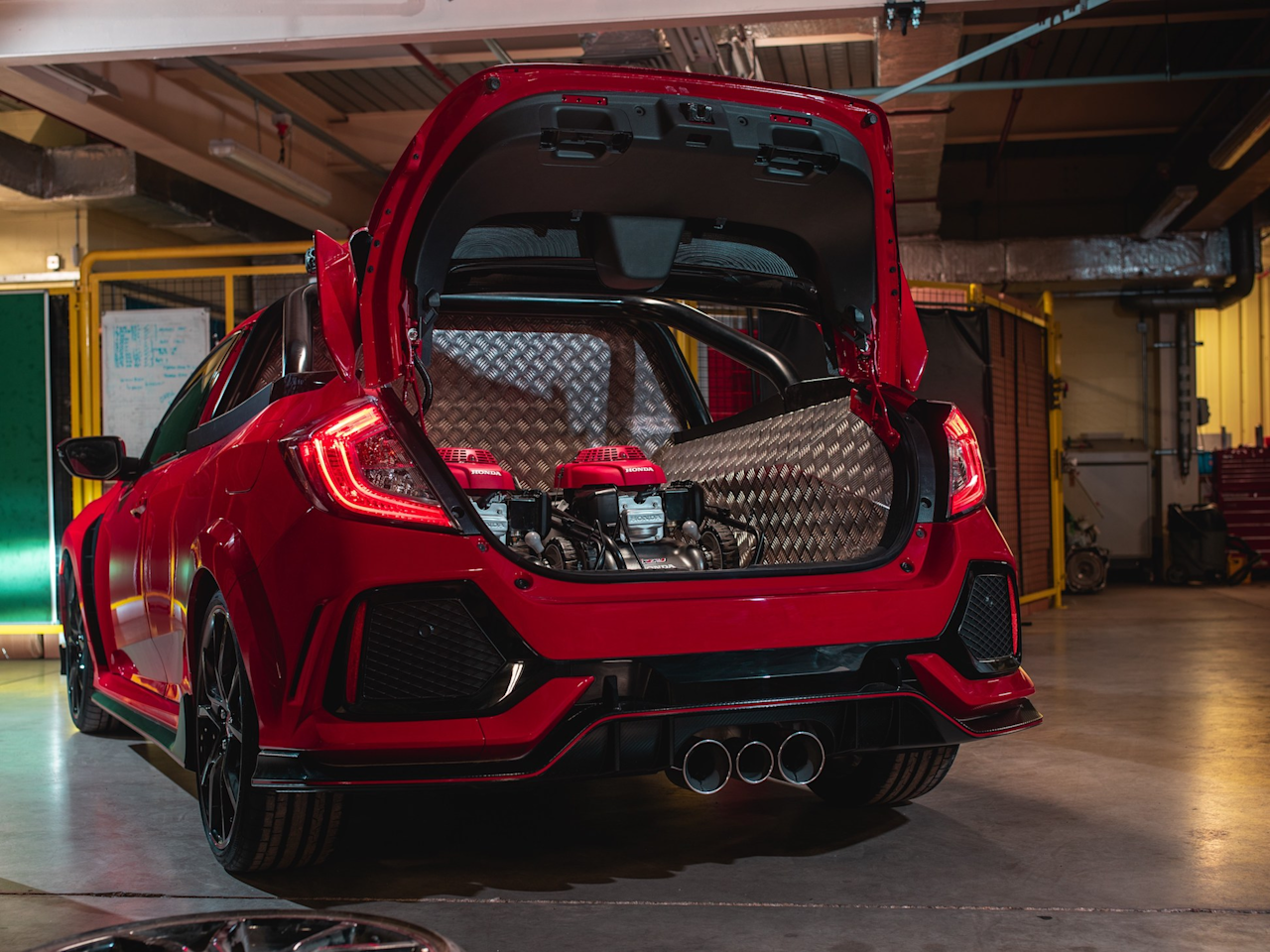 Honda built a Civic pickup truck and it's absolutely insane