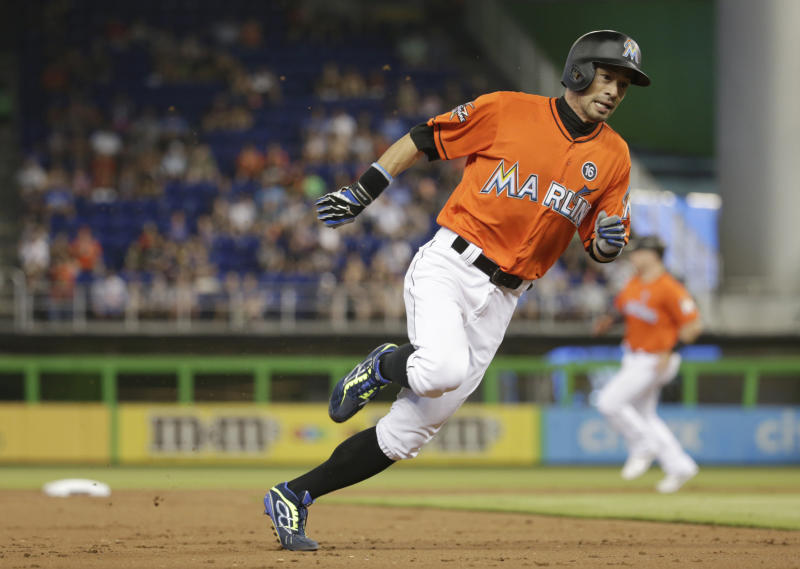 Marlins' Ichiro Suzuki, 43, becomes oldest starting CF