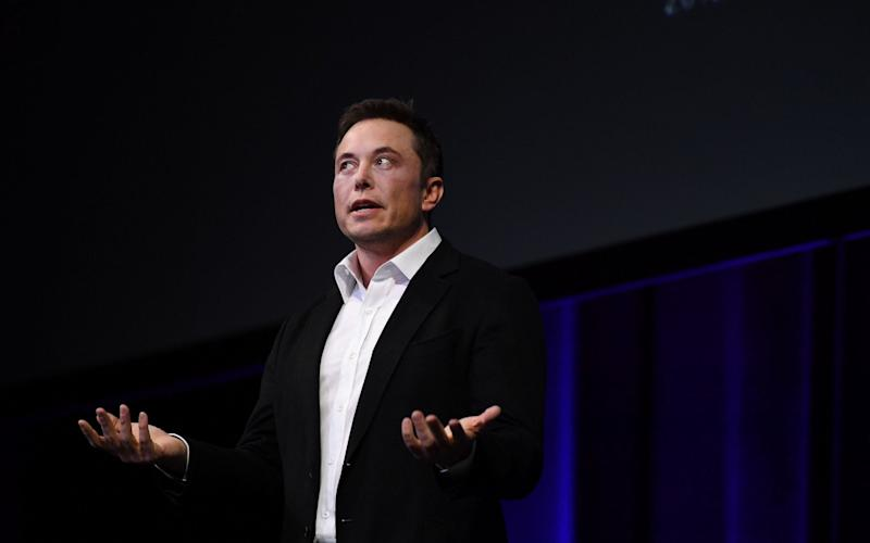 SpaceX CEO Elon Musk speaks at the International Astronautical Congress - Getty Images AsiaPac