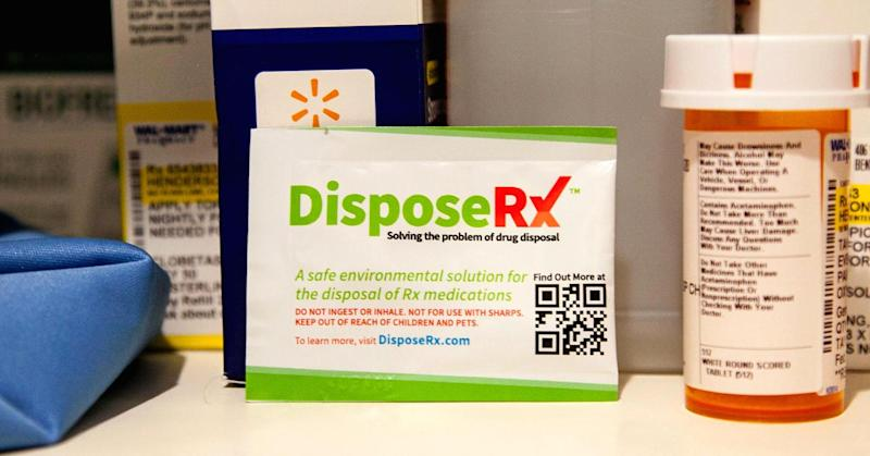 Walmart offers free opioid disposal product in effort to fight painkiller-abuse epidemic