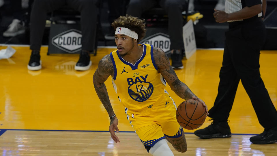 Golden State Warriors forward Kelly Oubre Jr.