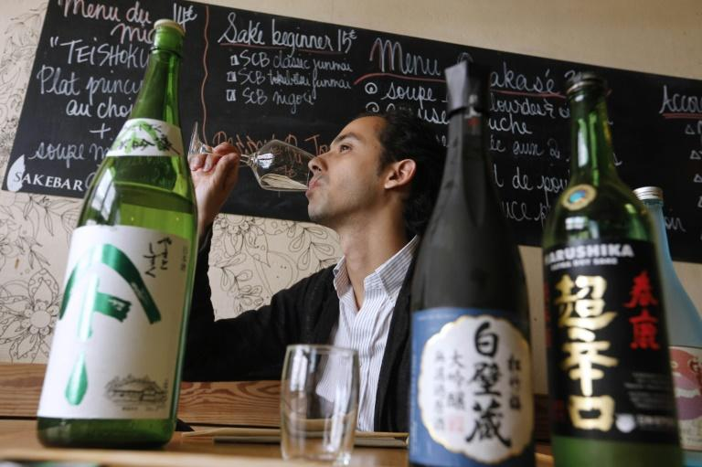 Sake's popularity started to grow in France about 20 years ago