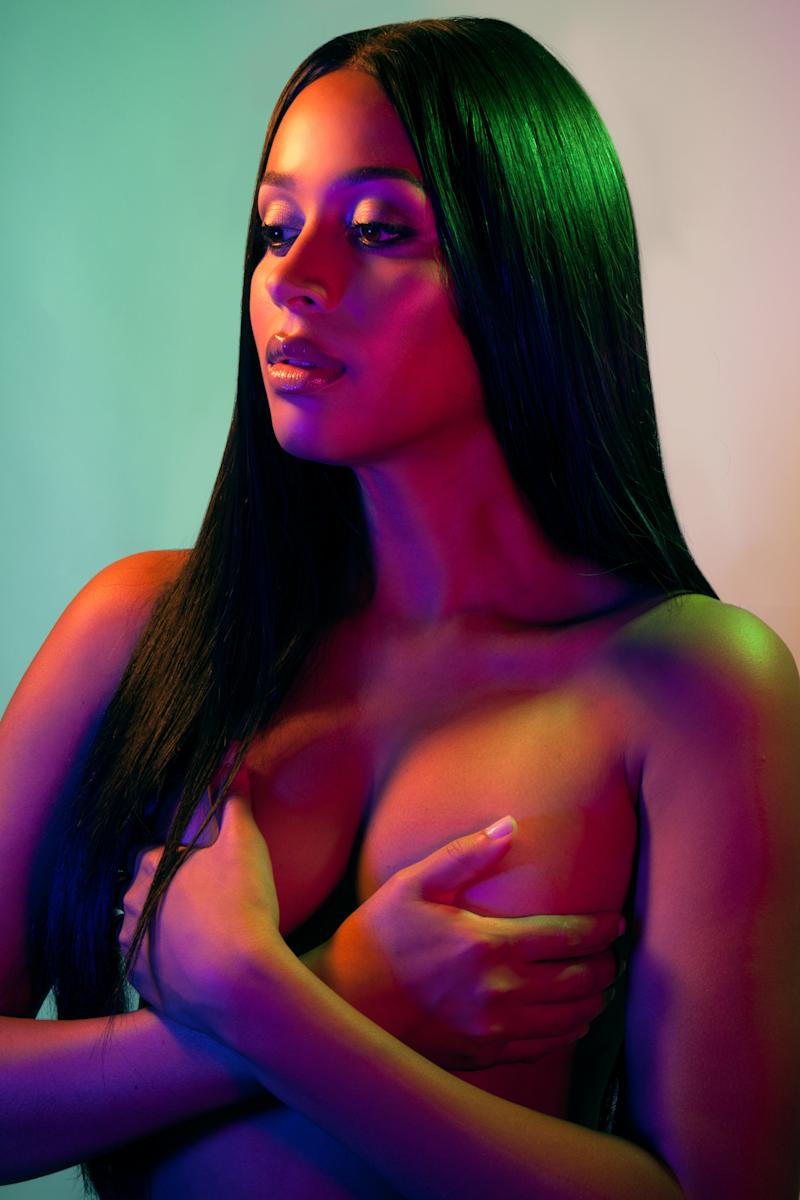 """""""I stand as a trans women of color, proud of my body, and feel like it shouldn't be policed without my consent,"""" Isis King, a trans model, told West. """"The attention is misdirected and a victim should never shamed because of their self expression through clothes."""" (Maggie West)"""