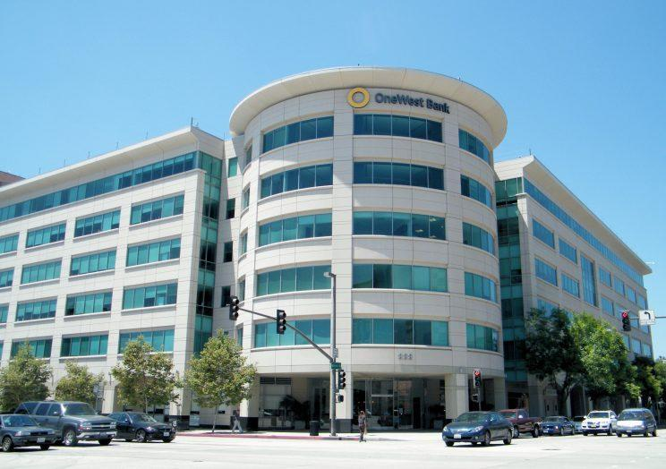 OneWest Bank headquarters in Pasadena