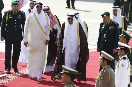 Five Arab states cut ties with Qatar