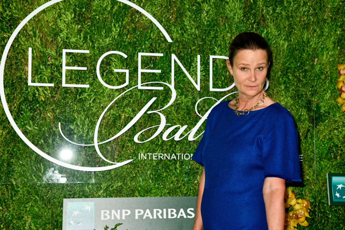 "Pam Shriver attends the International Tennis Hall of Fame Legends Ball on Sept. 7, 2019, in New York. <span class=""copyright"">(Kris Connor / Getty Images for International Tennis Hall of Fame)</span>"