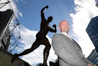 Alan Shearer has jumped to number six in the list thanks to a salary increase from £410,000 – £419,999 to £440,000 – £444,999 (Credit: PA)