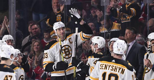Canadiens fans were incredibly respectful toward Zdeno Chara in his 1500th game