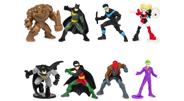 Batman 2-inch Scale 8-Pack of Collectible Mini Action Figures (Amazon Exclusive) (Photo: Amazon)