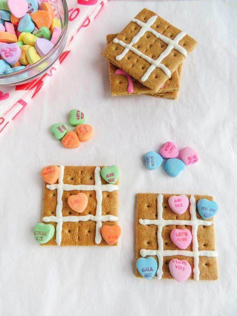 """<p>A snack and craft all in one — happy Valentine's Day to you! </p><p><em><a href=""""https://www.sippycupmom.com/valentine-tic-tac-toe-snack-craft/"""" rel=""""nofollow noopener"""" target=""""_blank"""" data-ylk=""""slk:Get the tutorial at The Sippy Cup Mom »"""" class=""""link rapid-noclick-resp"""">Get the tutorial at The Sippy Cup Mom »</a></em></p>"""