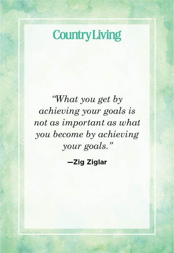 """<p>""""What you get by achieving your goals is not as important as what you become by achieving your goals.""""</p>"""