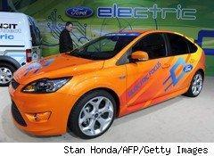 Ford Focus Electric Car uses Hohm power grid monitoring system.