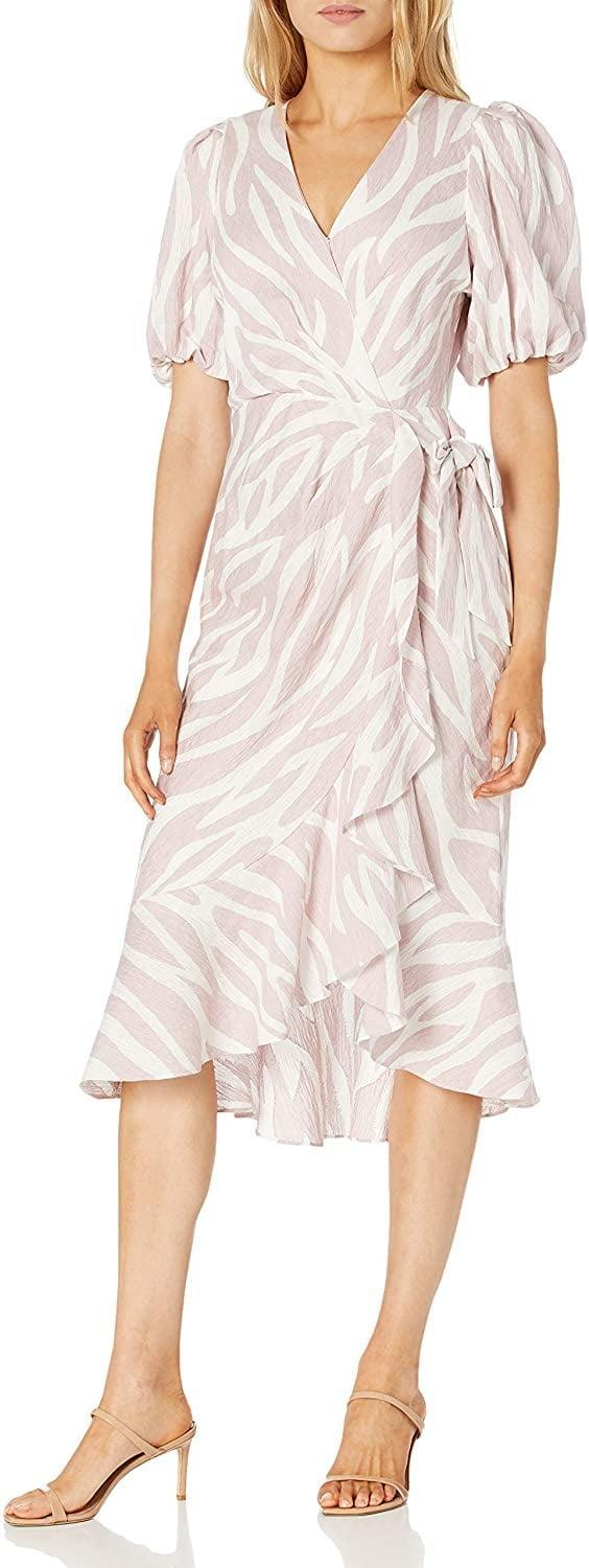 <p>Style this <span>Parker Wrap Dress</span> ($152-$237) with your favorite heels.</p>