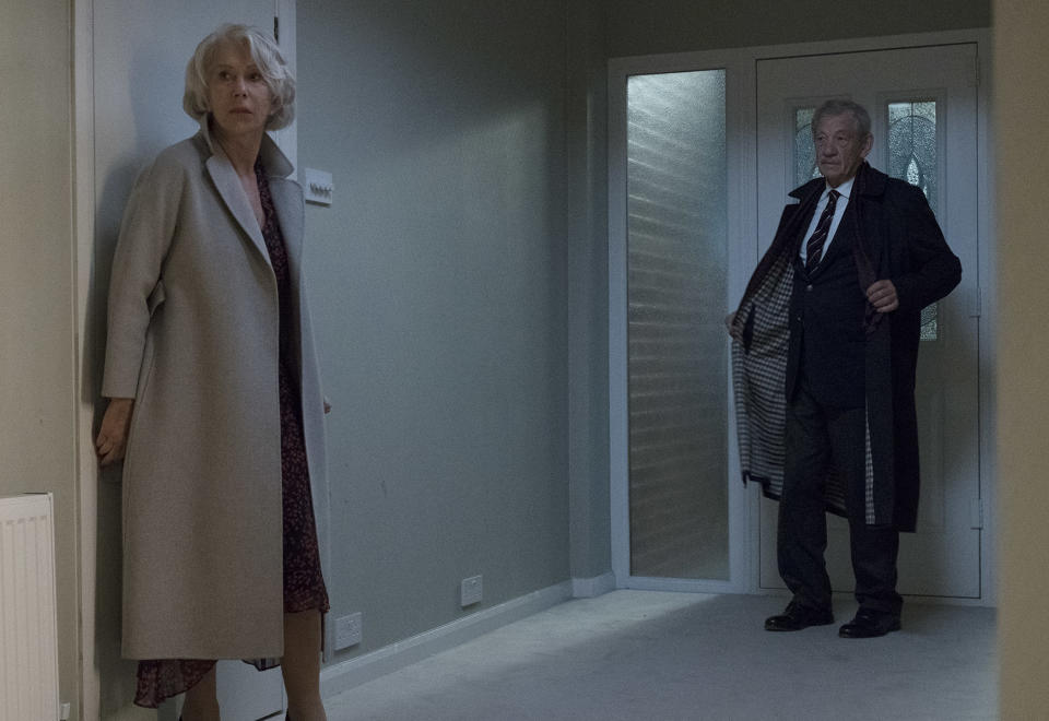 Helen Mirren and Ian McKellen in <i>The Good Liar</i> (Warner Bros.)